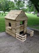 Click to enlarge image Play House - Log Cabin Style Play house