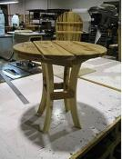 Click to enlarge image Round End Table -